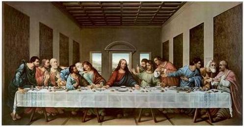last supper painting