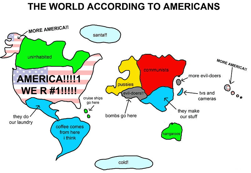 According To  Amurrika