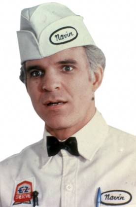 Steve Martin as The Jerk