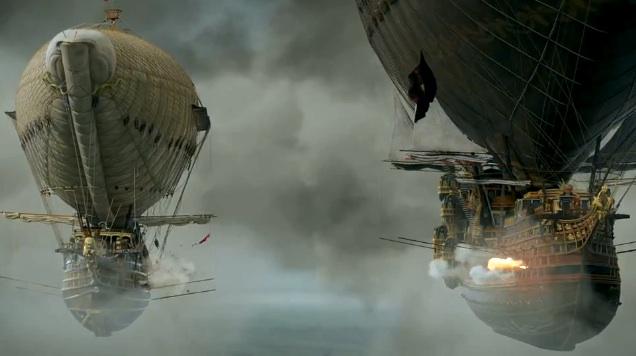Airship battles