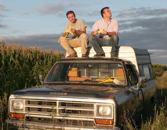 Truck Corn Eaters