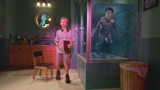 Sharkboy shower